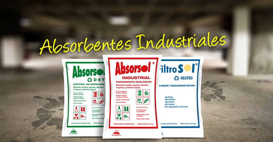 Absorbentes industriales