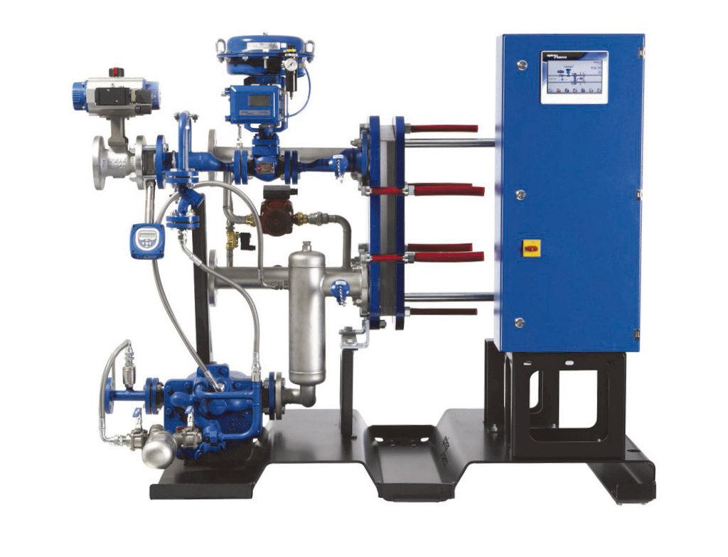 Vapor. Controles de calderas y sistemas